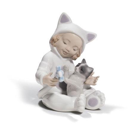 Statuetta Un gattino speciale