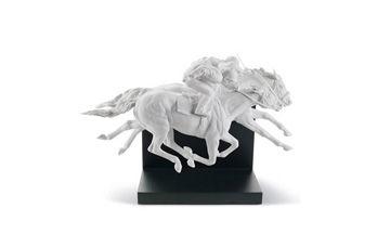Statuetta Corsa di cavalli