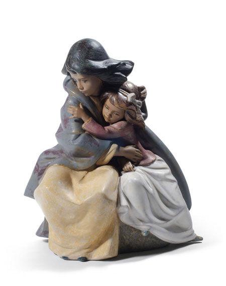 Statuetta Sorelle timorose