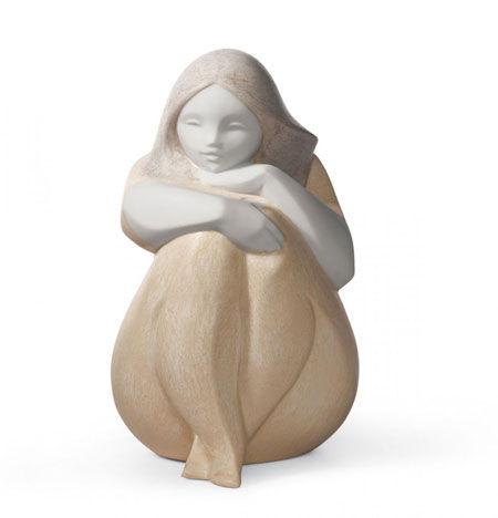 Statuetta Bimba sole