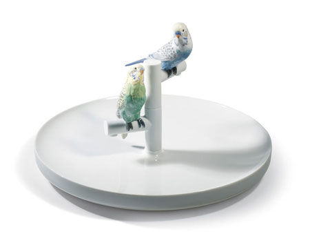 Statuetta Parrot Romance