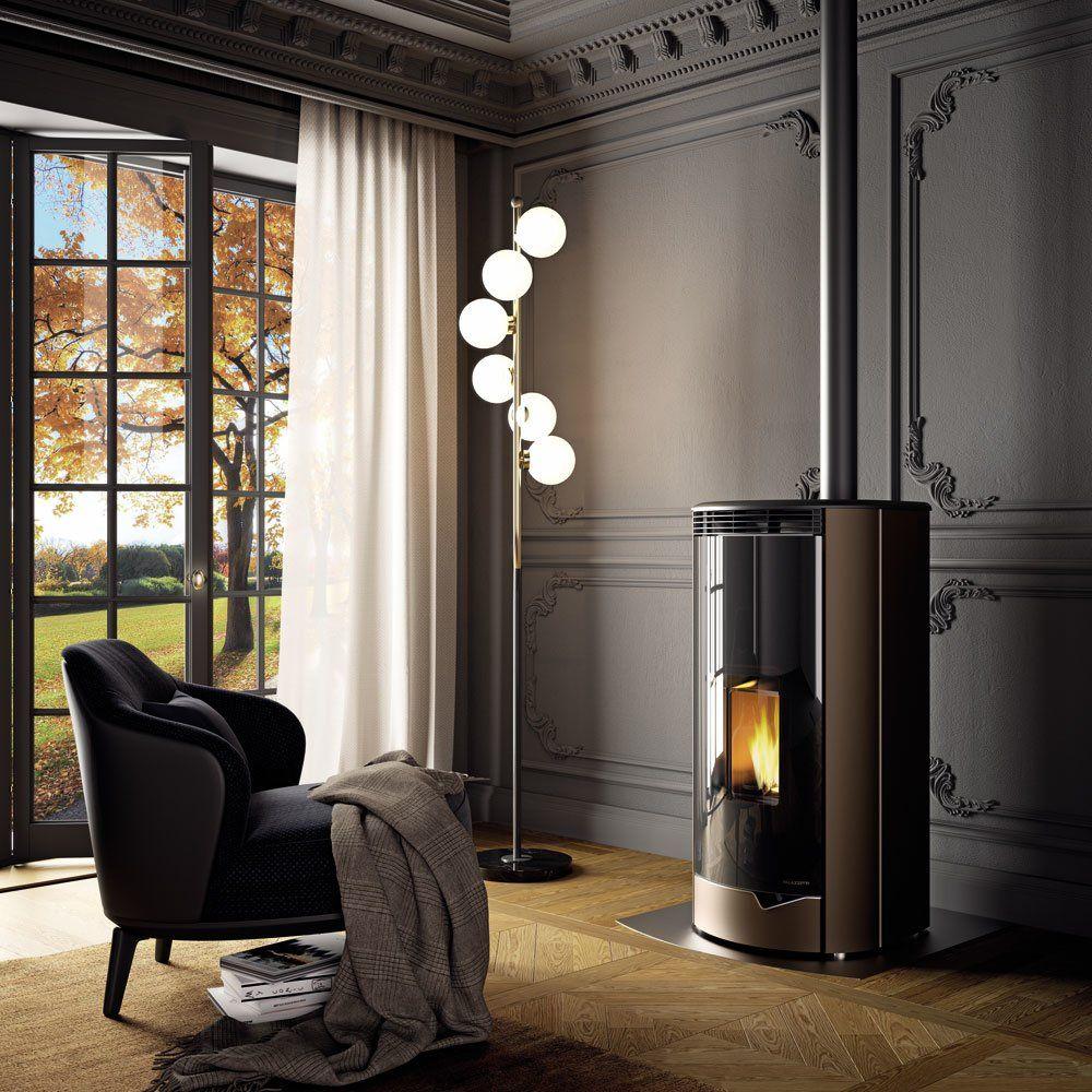 Stufa A Pellet Ecofire® Marianne da Palazzetti | Designbest