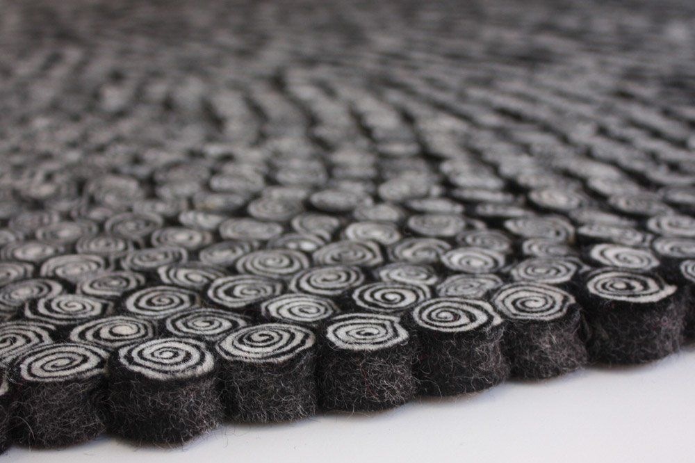 designer carpets teppiche teppich nautilus black designbest. Black Bedroom Furniture Sets. Home Design Ideas