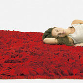 Rug Roses Red
