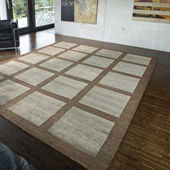 Tapis Fields Brown