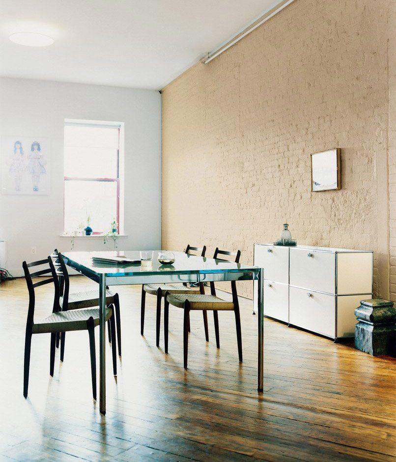 usm tische tisch usm haller designbest. Black Bedroom Furniture Sets. Home Design Ideas