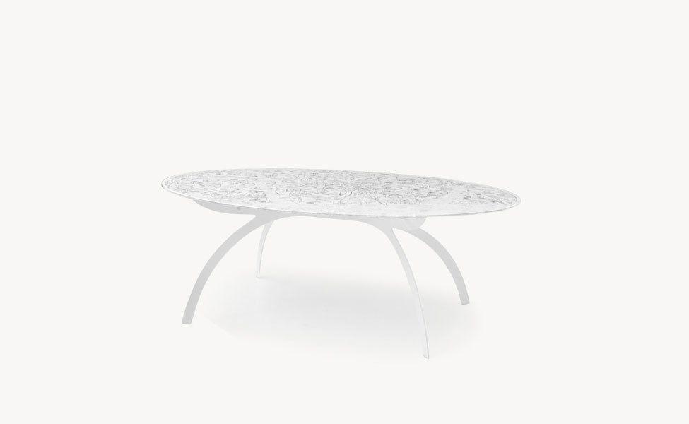 Tavolo Glass Oval