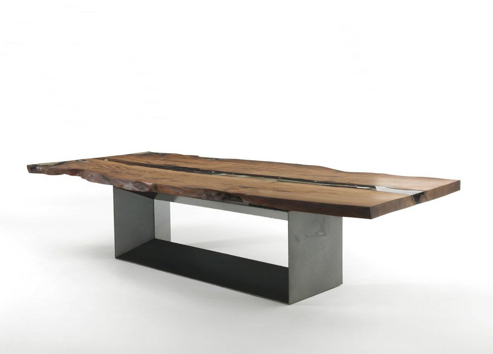 Tables: Table Cube Kauri by Riva 1920