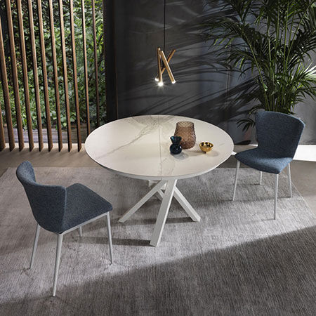 Table Round by Riflessi