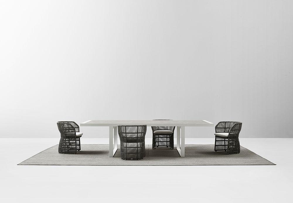 Bb Italia Gartentische Tisch Canasta 13 Outdoor Designbest