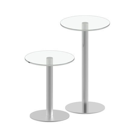 Small Table Go-go Inox