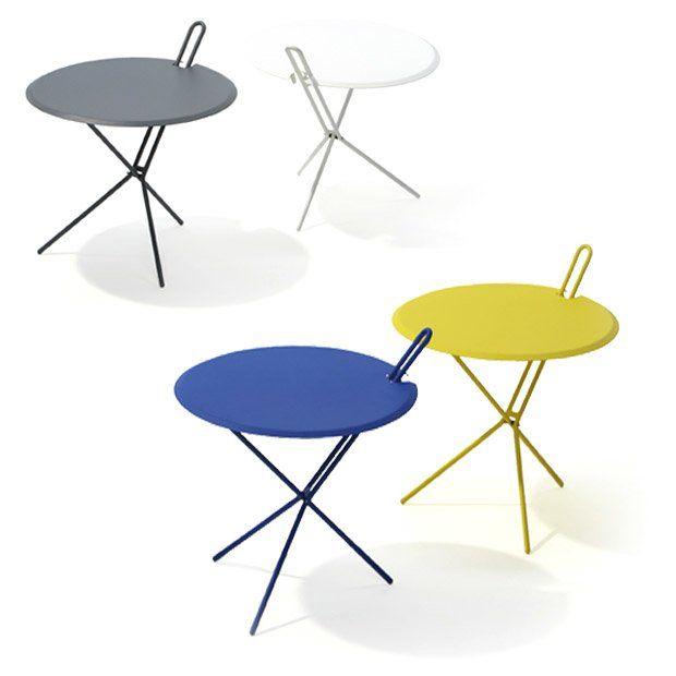 richard lampert kleine tische f r den garten beistelltisch hook designbest. Black Bedroom Furniture Sets. Home Design Ideas
