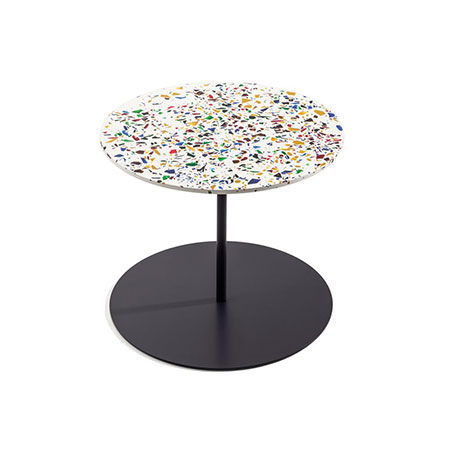 Small Table Gong Terrazzo by Cappellini
