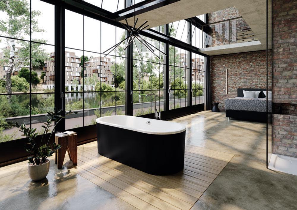 kaldewei badewannen badewanne classic duo oval wide designbest. Black Bedroom Furniture Sets. Home Design Ideas
