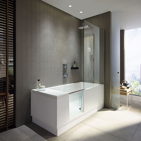 Vasca Shower + Bath di Duravit
