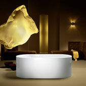 Bathtub Centro Duo Oval freestanding