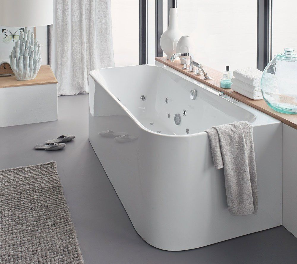 Whirlpool Bathtubs: Whirlpool Bathtub Happy D.2 by Duravit