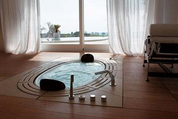 Whirlpool bathtub Sorgente S01
