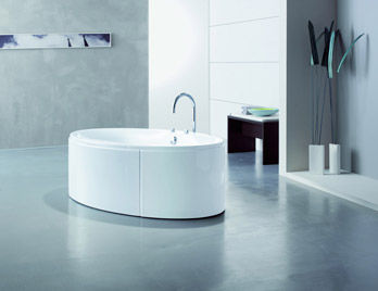Whirlpool bathtub Maxi Oval