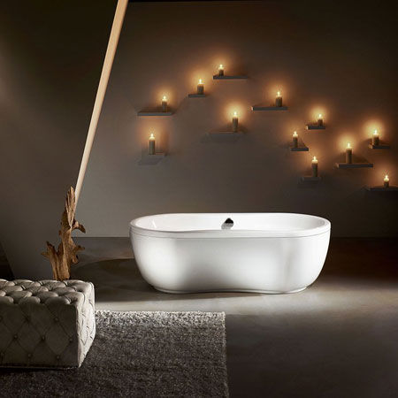 Whirlpool Bathtub Mega Duo Oval