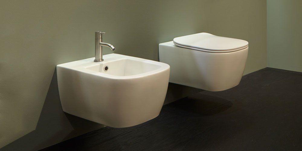 WC And Bidets: Wc And Bidet Komodo by Antonio Lupi