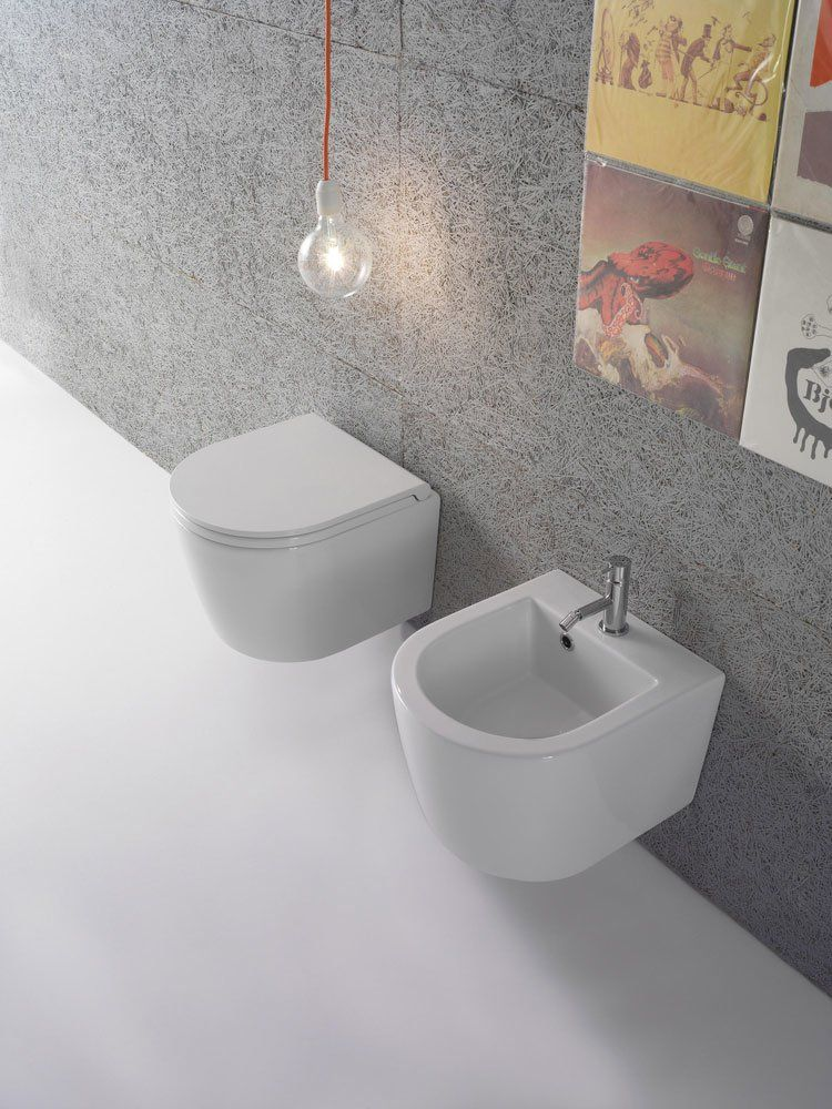 Ceramica Globo Serie Stone.Wc And Bidets Wc And Bidet Forty3 By Ceramica Globo