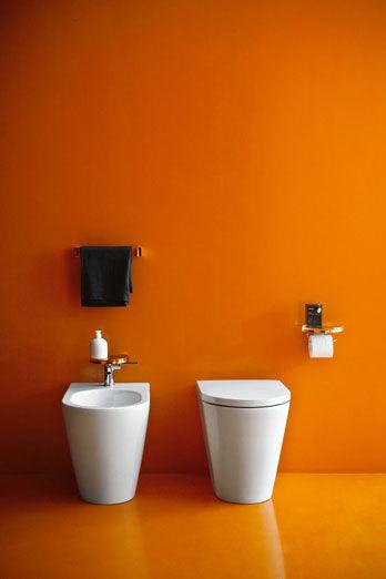 WC und Bidet Kartell by Laufen