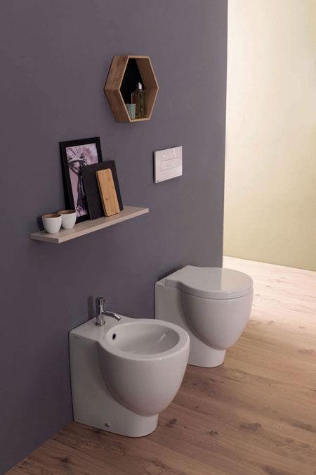 WC und Bidet Bowl