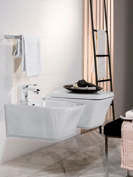 WC e bidet Neutra