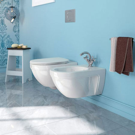 Wc e bidet Canova Royal 55