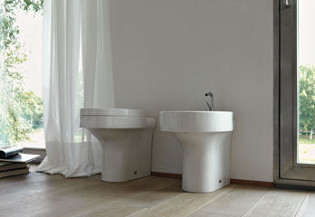 Wc and Bidet Cento