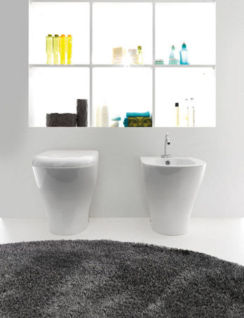 Wc and Bidet Aquatech