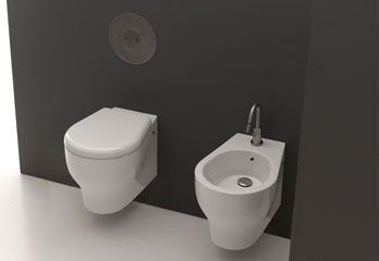 Wc and Bidet K09