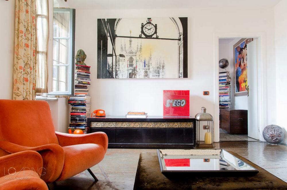 Ristrutturazione e arredo dell'appartamento di una giornalista a Milano