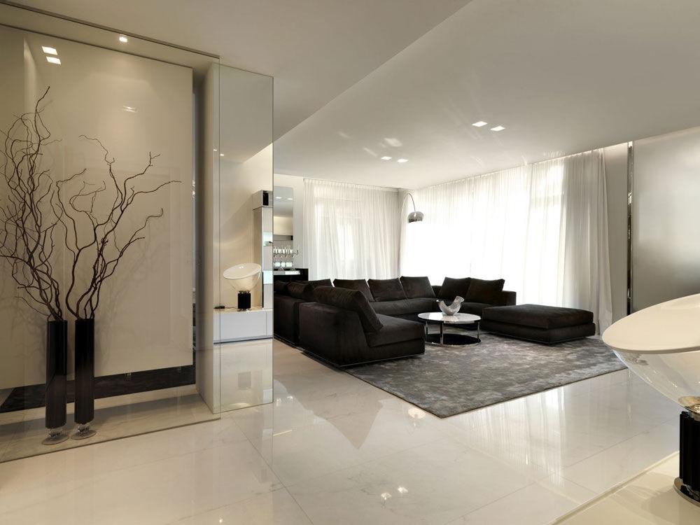 Stile minimal nella casa di un campione