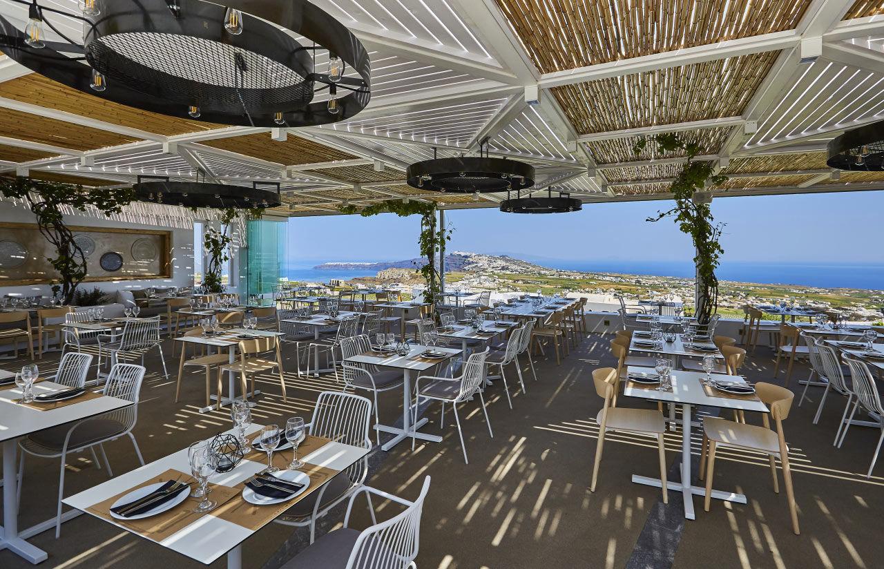 Pyrgos Restaurant - Santorini
