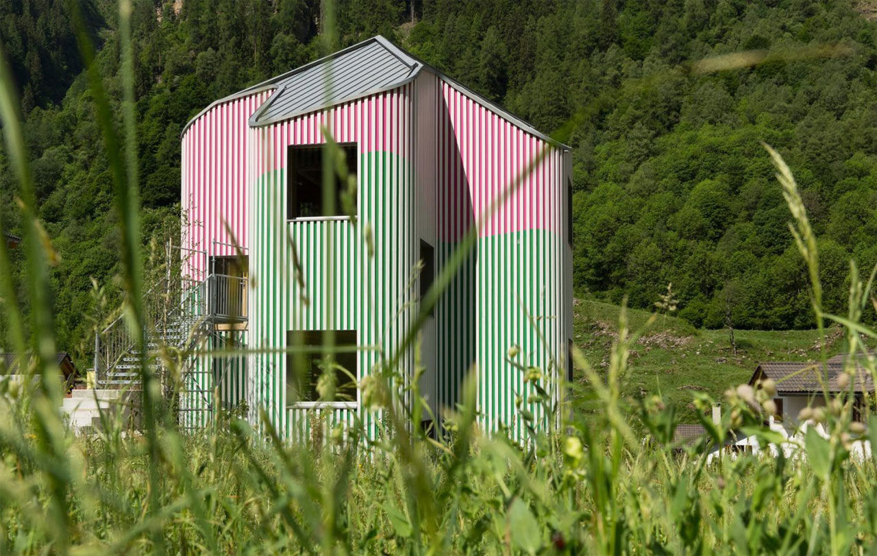 XXXII House - Una casa sospesa tra arte e montagna