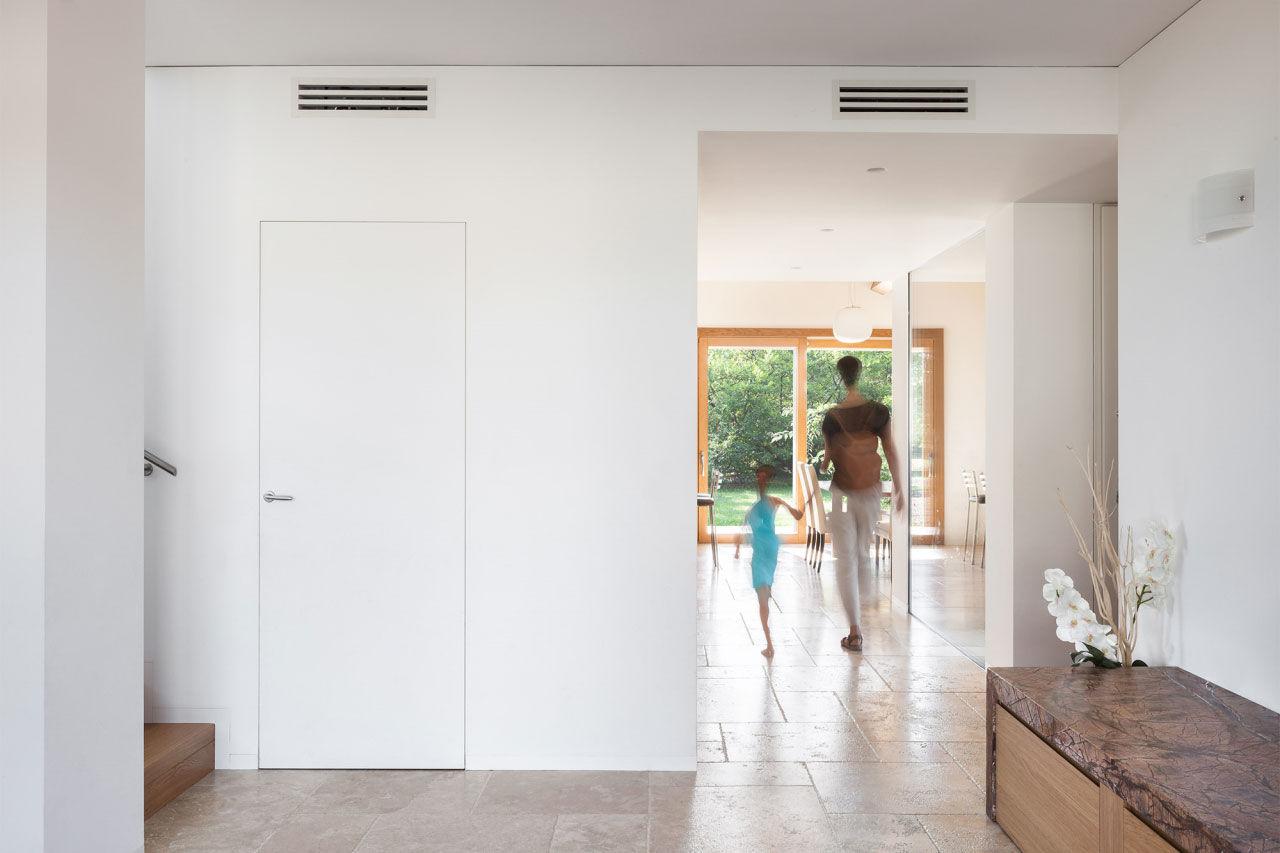 165 mq: una casa unifamiliare con spazi luminosi e funzionali