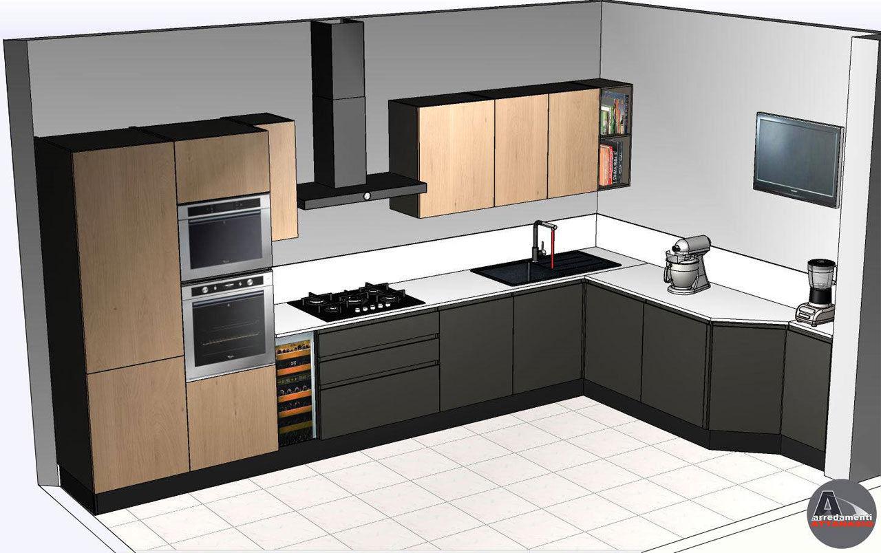 Cucina Scavolini modello Motus
