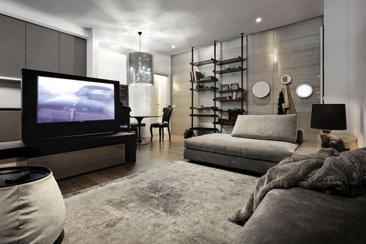Raffinato mini-appartamento di una giovane manager milanese