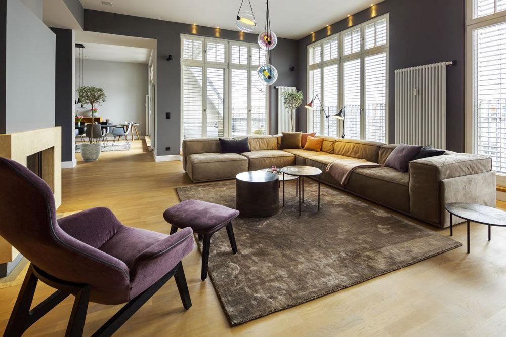 A top floor apartment in Berlin-Wilmersdorf