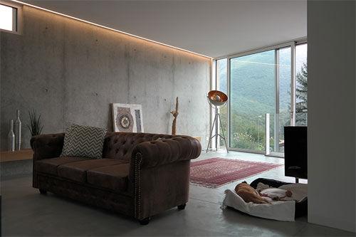 Casa Gau di JPA Antorini Architetti: Corten, cementi e legno