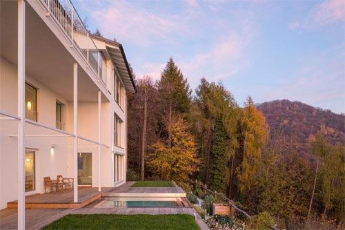 Villa vista lago, Lugano