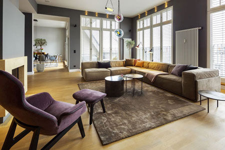 A top floor apartment in Berlin-Wilmersdorf
